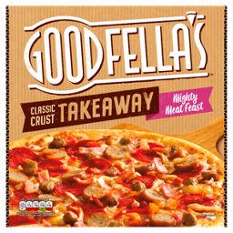 Goodfellas Takeaway Mighty Meat Pizza Asda Groceries