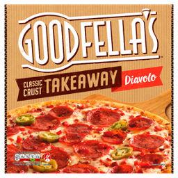 Goodfellas Takeaway Diavolo Pizza Asda Groceries