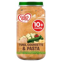 Cow Gate Courgette Tuna Pasta Baby Food Jar 10m Asda