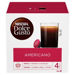 Nescafe Dolce Gusto Americano Coffee Pods 16 Capsules Asda