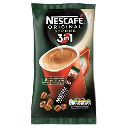 Nescafe Original 3in1 Strong Instant Coffee Sachets Asda