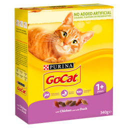 Go Cat Adult Cat Food Chicken And Duck Asda Groceries