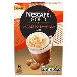 Nescafe Gold Amaretto Vanilla Coffee Sachets Asda Groceries