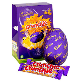 Cadbury crunchie large easter egg asda groceries negle Choice Image