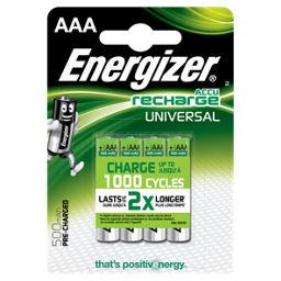 Energizer Recharge Universal Rechargeable Aaa Batteries Asda Groceries