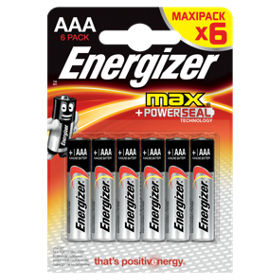 Energizer Max Alkaline Batteries Aaa 4 Each 6 Pack Traveling Other Home Cleaning Supplies