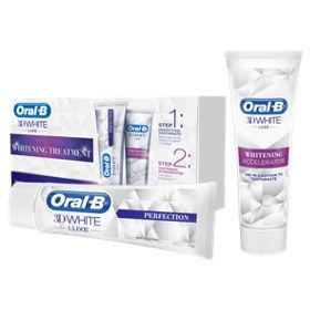 3D White Luxe Whitening Treatment Set – Toothpaste + Accelerator