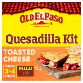 Old el paso mexican toasted cheese quesadilla kit asda groceries solutioingenieria Choice Image
