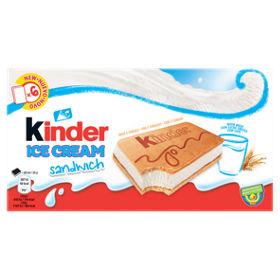 Kinder Ice Cream Sandwich Asda Groceries