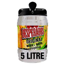 Desperados Tequila Lager Beer Keg Asda Groceries