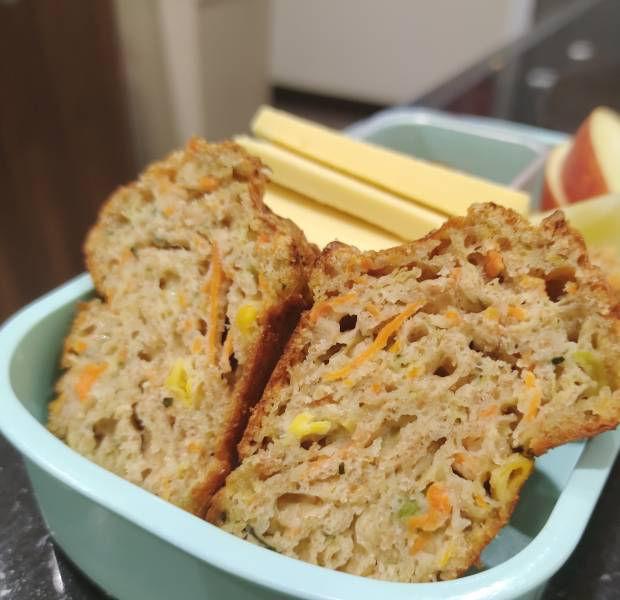 Savoury veg and cheese muffins
