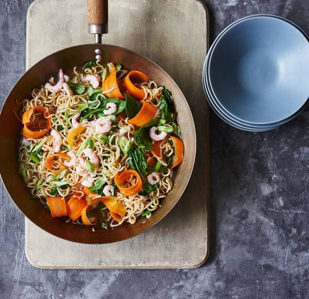 Easy one-pan noodles