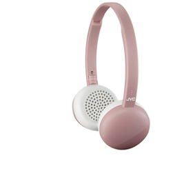 a24480ed1a4 JVC HA-S20 Bluetooth Wireless On-Ear Headphones - Pink - ASDA Groceries