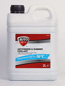 Red Anti-Freeze & Summer Coolant