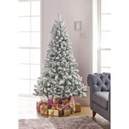 George Home 6ft Snowy Pine Christmas Tree Asda Groceries
