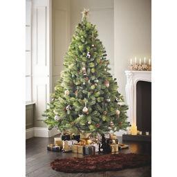 George Home 7ft Pine Cone Christmas Tree Asda Groceries