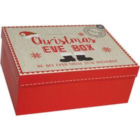 Christmas Boxes.Red Christmas Eve Box