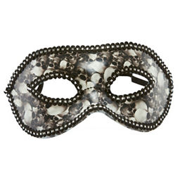 George Home Halloween Black Silver Sequin Masquerade Mask Asda Groceries