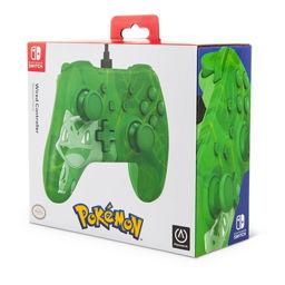 Powera Pokemon Wired Controller For Nintendo Switch Bulbasaur Overgrow Asda Groceries