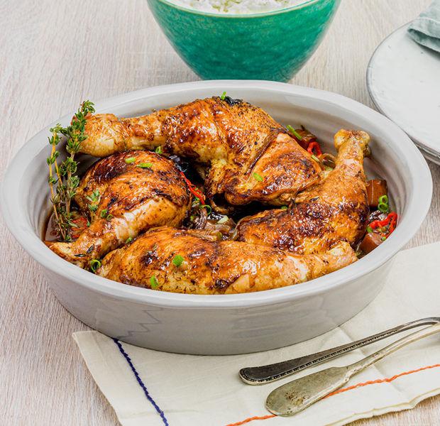 Kadeena Cox's Family Brown Stew Chicken