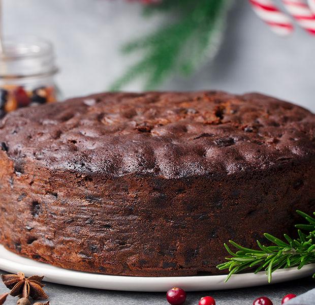 Luxurious Christmas Cake