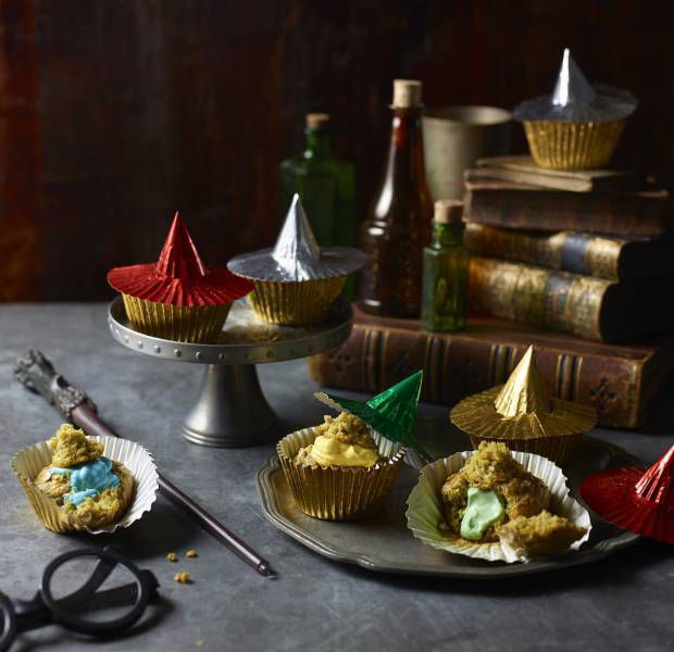 Harry Potter sorting hat muffins