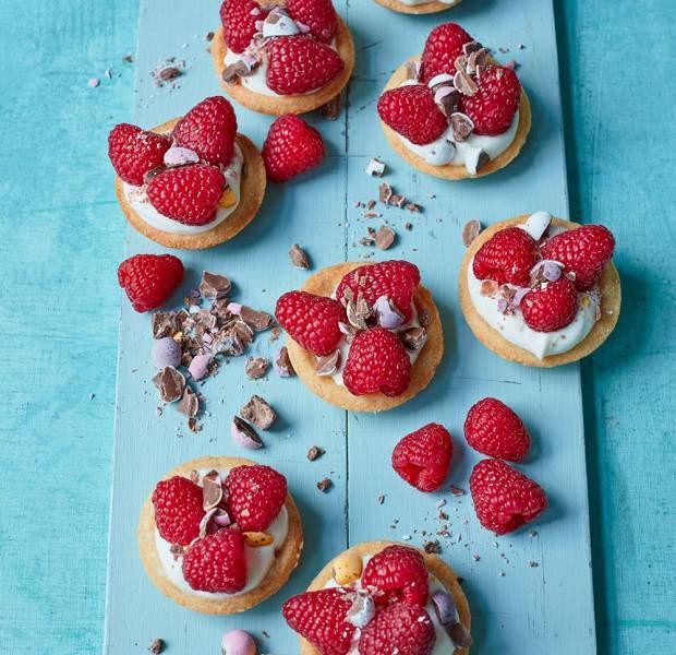 Briony Williams' raspberry tarts