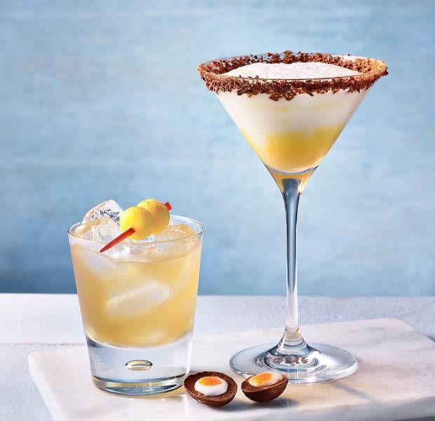 Chocolate egg martini