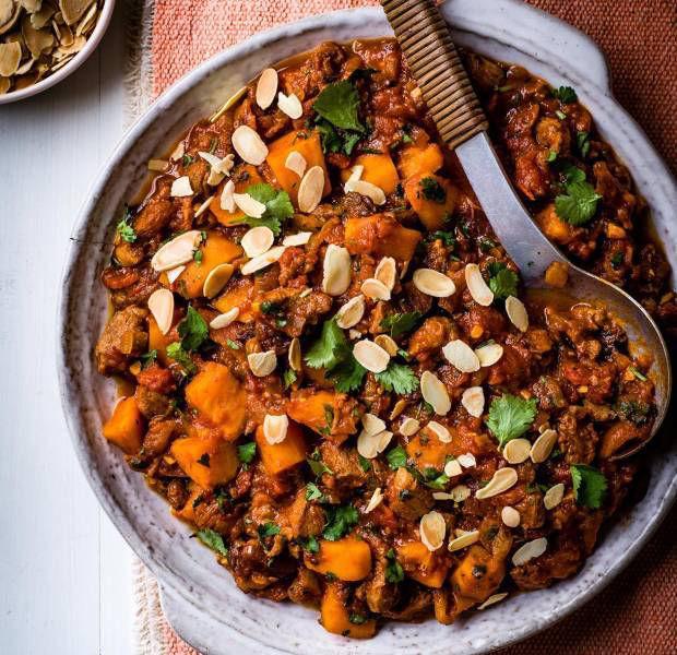 Moroccan lamb and sweet potato stew