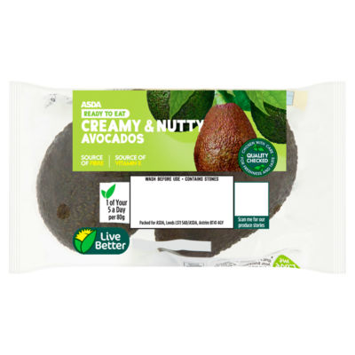 ASDA Grower's Selection Ripe & Ready Medium Avocados