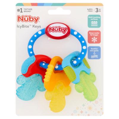 Nuby Icy Bite Keys Soothing Teether 3 Months