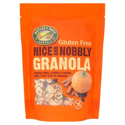 Nature's Path Organic Gluten Free Granola Pumpkin Seeds Almonds & Raisins