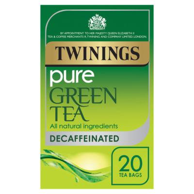 Twinings Decaf Pure Green Tea 20 Tea Bags
