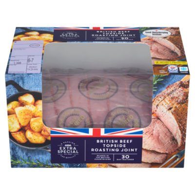 ASDA Extra Special 30 Day Matured Beef Joint (Typically 1.4kg)