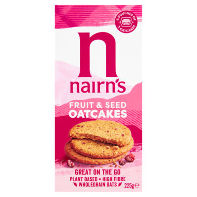 Nairn's On the Go Fruit & Seed Oatcakes