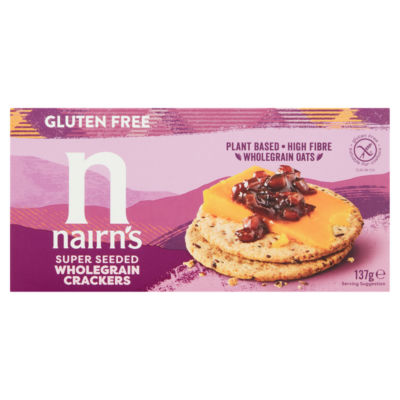 Nairn's Gluten Free Super Seeded Wholegrain Crackers