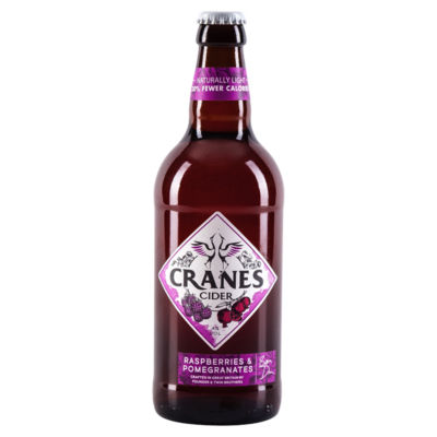 Cranes Raspberries & Pomegranate Cider