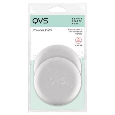 QVS Compact Powder Puff Applicators