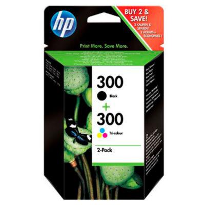 HP 300 Black & Colour Ink Cartridge