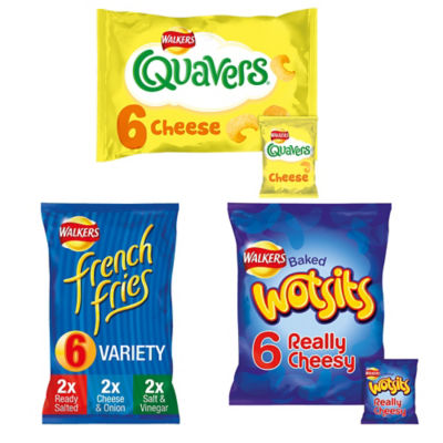 ASDA > Food Cupboard > Walkers Crisps Multipack Bundle