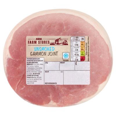 ASDA Farm Stores Unsmoked Gammon Joint