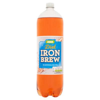 ASDA No Added Sugar Diet Iron Brew