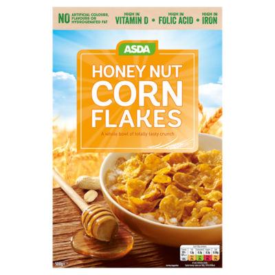 ASDA Honey Nut Corn Flakes Cereal