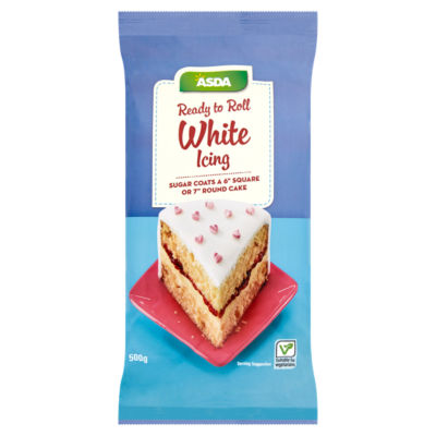 ASDA Ready to Roll White Icing
