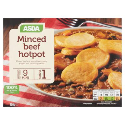 ASDA Minced Beef Hotpot