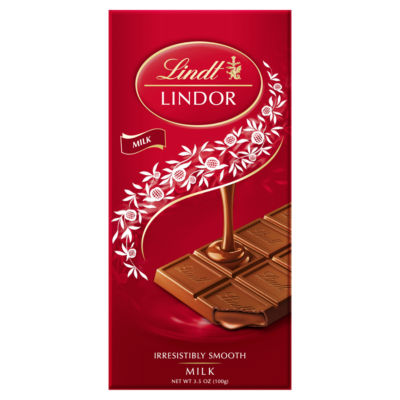 Lindt Lindor Milk Chocolate Bar