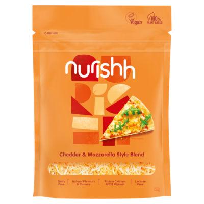 Nurishh Cheddar & Mozzarella Style Blend