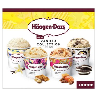 Haagen-Dazs Vanilla Minicup Ice Cream Collection