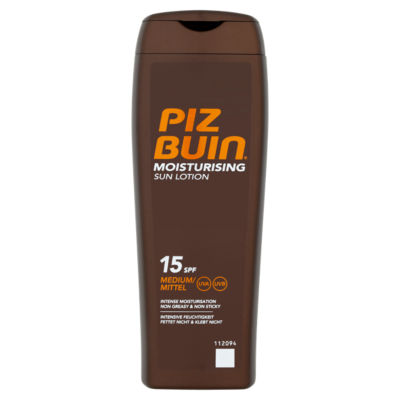Piz Buin In Sun Moisturising Sun Lotion SPF 15 Medium