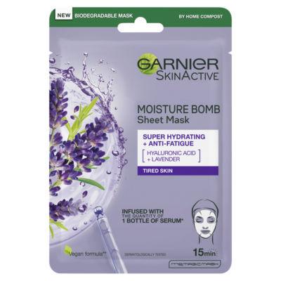 Garnier Moisture Bomb Lavender Hydrating Sheet Mask